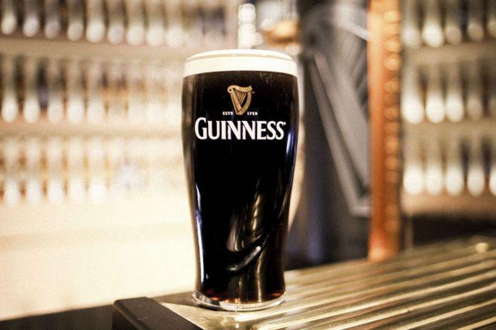Guinness Draught Settle Pint
