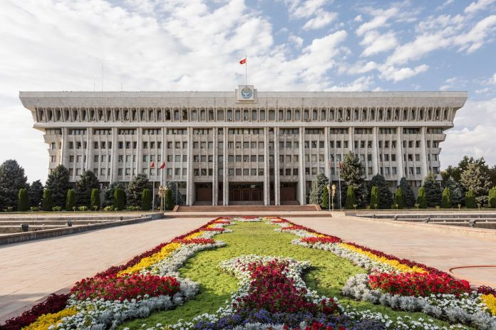 The Parliament of the Kyrgyz Republic in Bishkek