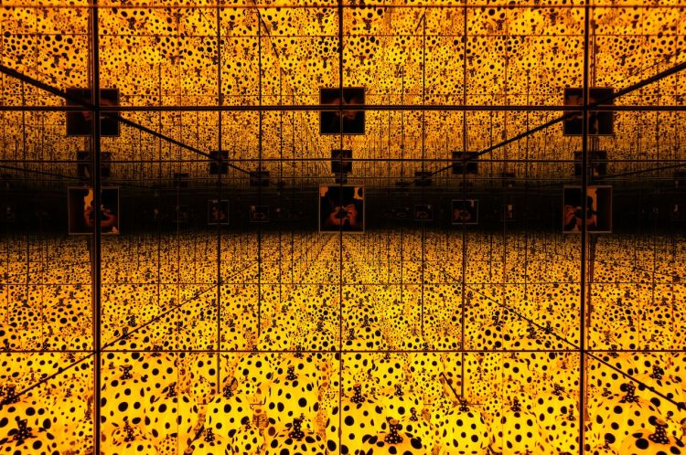 Image result for Yayoi Kusama Infinity Mirror Rooms