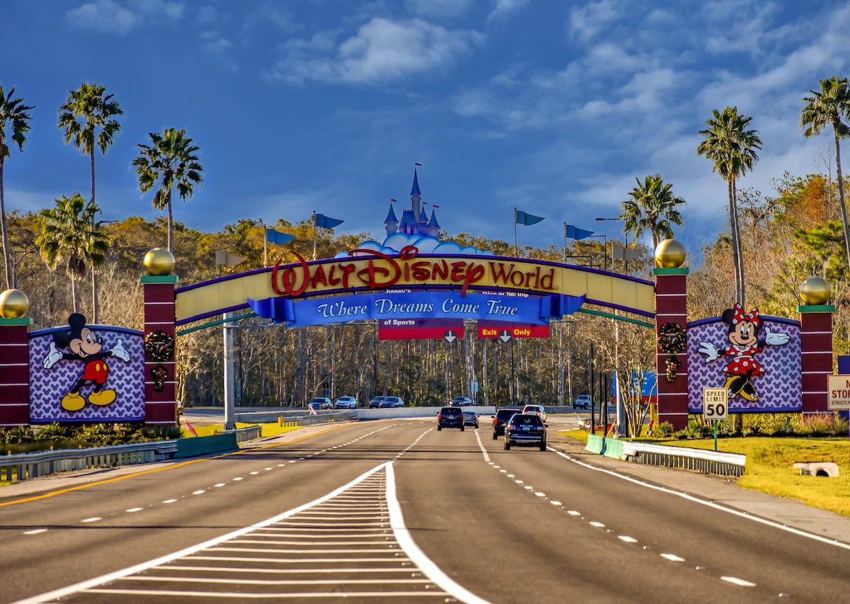 Man Arrested For Camping On Disney Island