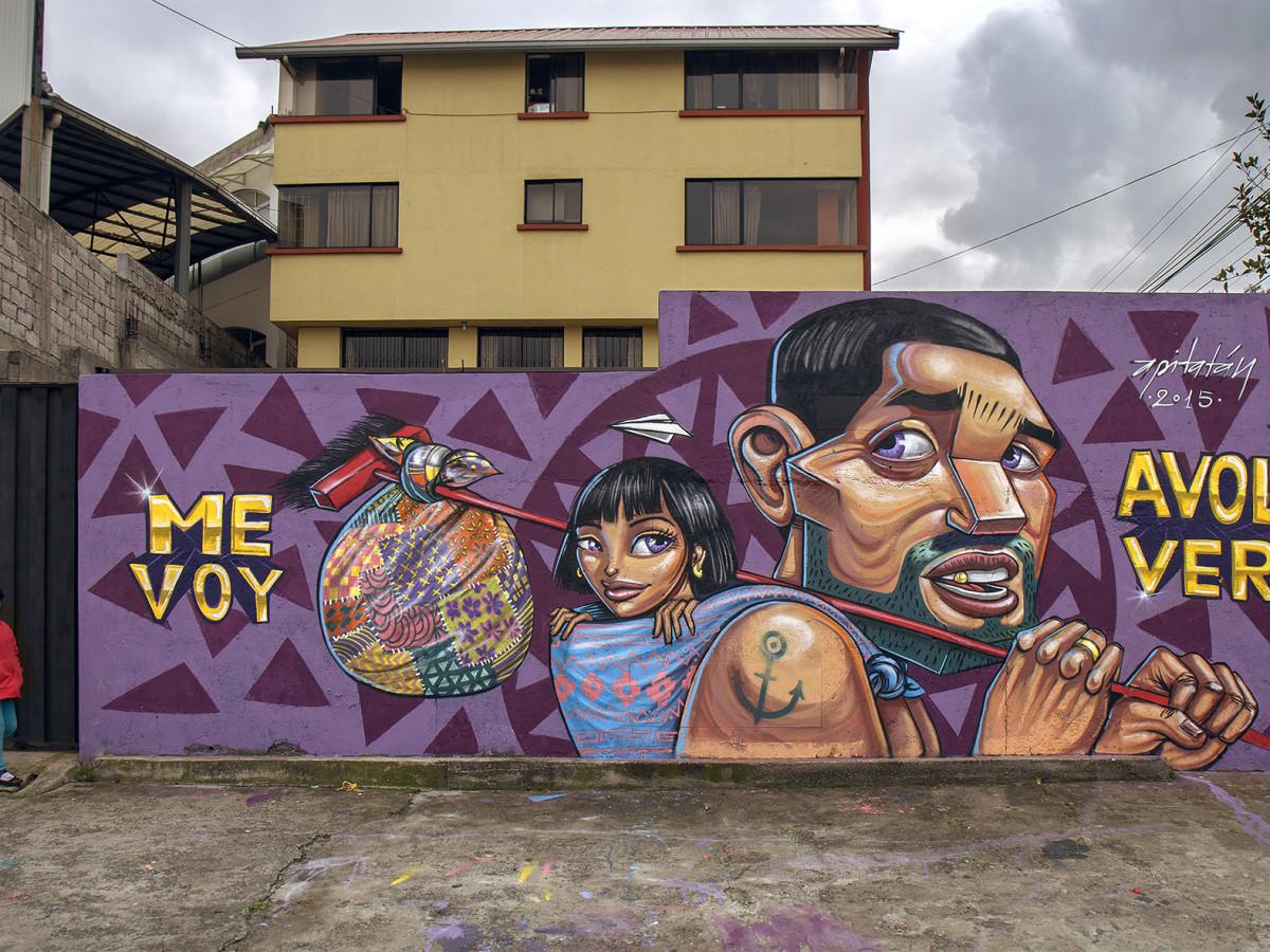 El crecimiento del arte urbano ecuatoriano en 15 imgenes