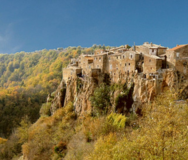 The Rolling Hills Of Calcata Home Of The Holy Foreskin Photo Draks