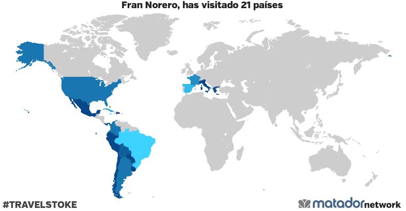 El mapamundi de Fran Norero