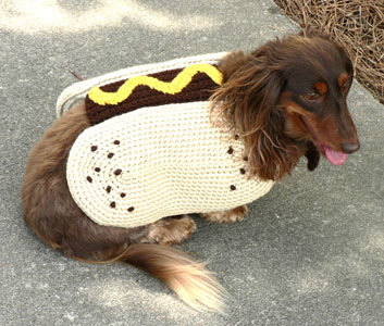 Crochet Dog Costume