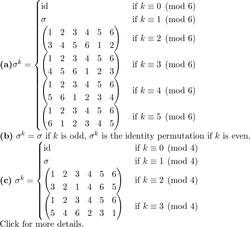 Abstract algebra homework solutions. Math 332. 2019-01-13