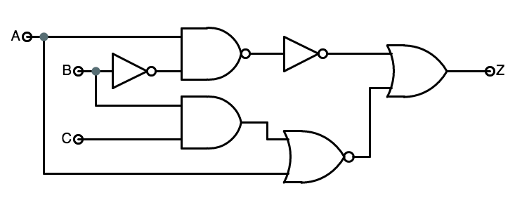 Solved: The Circuit Diagram For A 3-input Framulator Is Sh