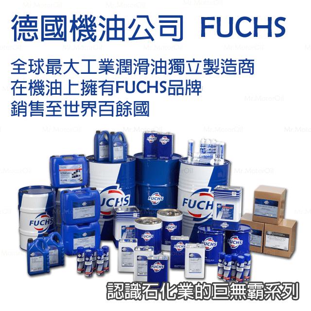 【機油品牌】FUCHS-認識石化業的巨無霸系列