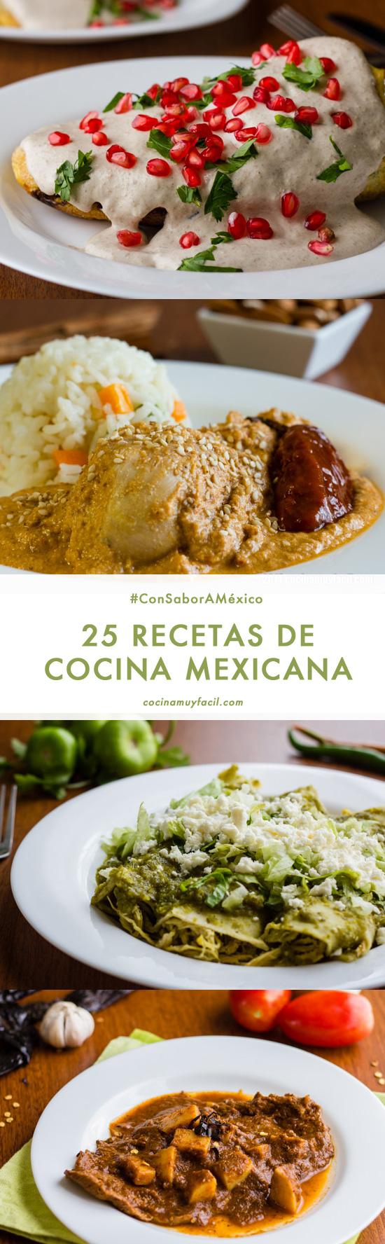12 Recetas de Cocina Mexicana para Celebrar  Cocina Muy Facil