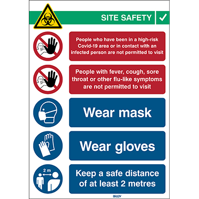 Covid 19 Mask Sign