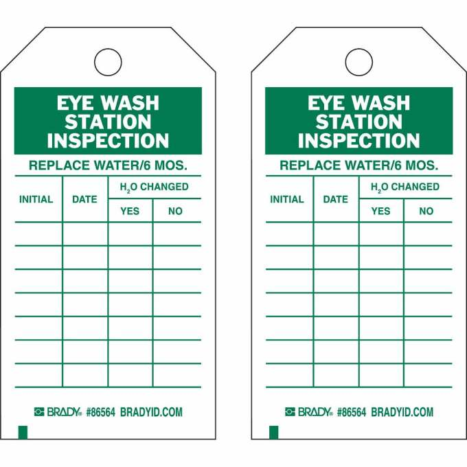 Eyewash Inspection Form