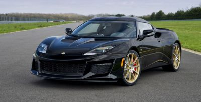 Black and gold Lotus Evora Sport 410 GP Edition looks a ...