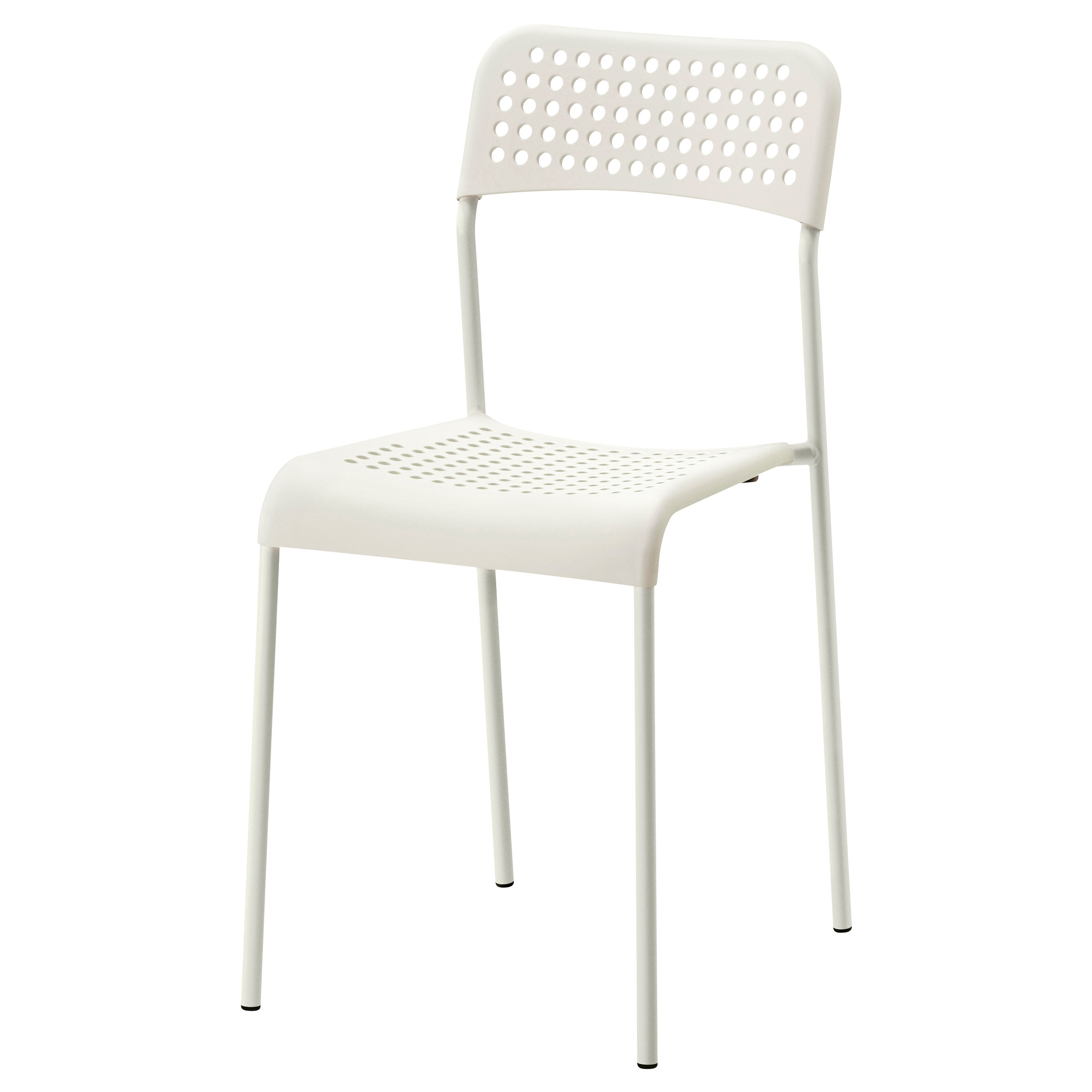 White Stackable Chairs Adde
