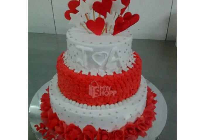 3 Trier Birthday Cake 3 Kg At Rs500000 From Fantasy Vikhroli West