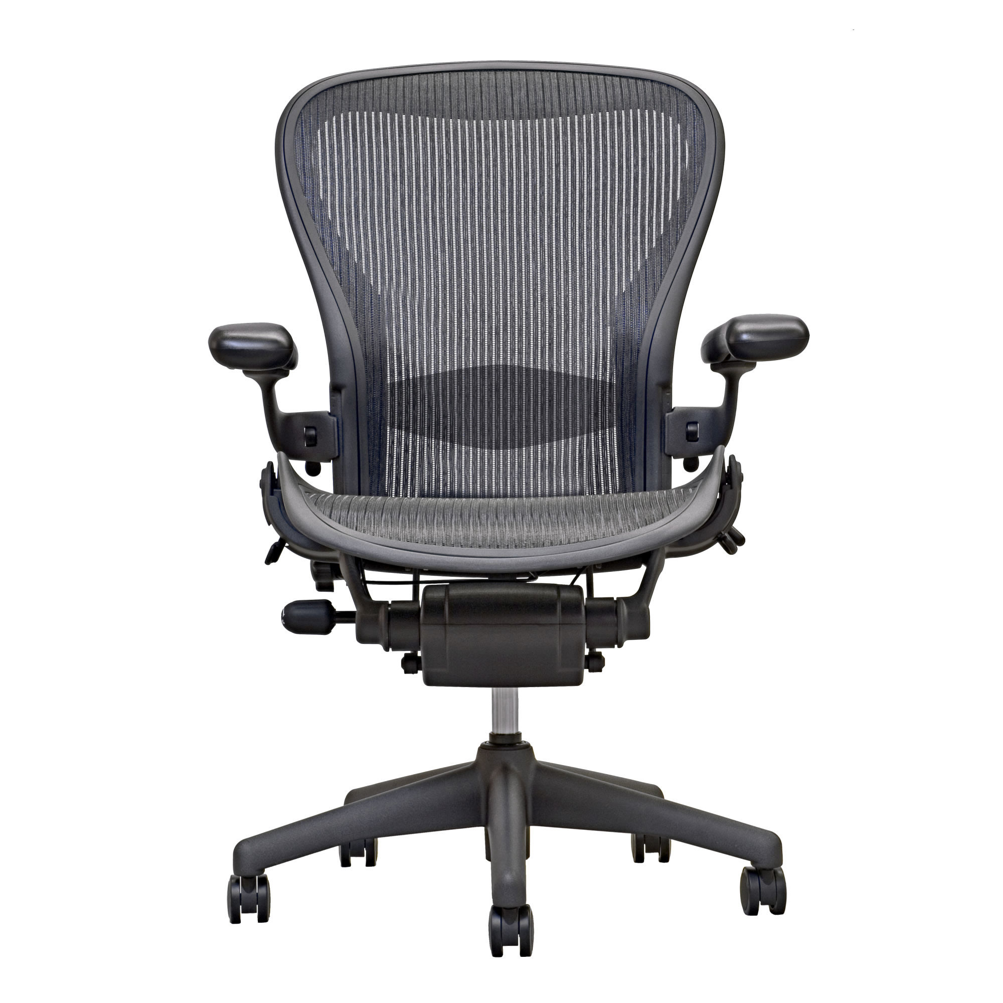 Aero Chair Aeron Chair By Herman Miller Highly Adjustable Carbon