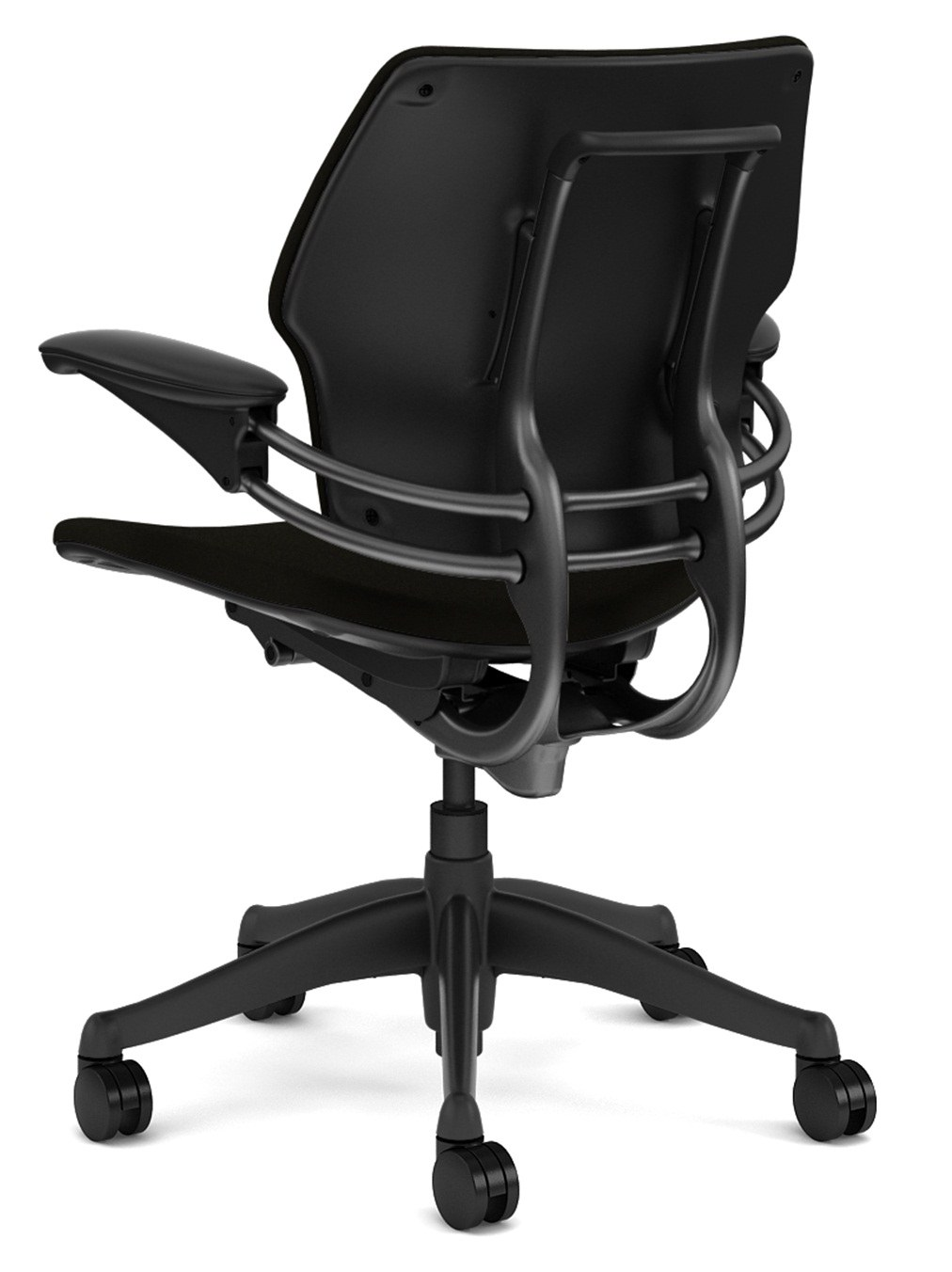 freedom task chair with headrest for spine problems mid back by humanscale