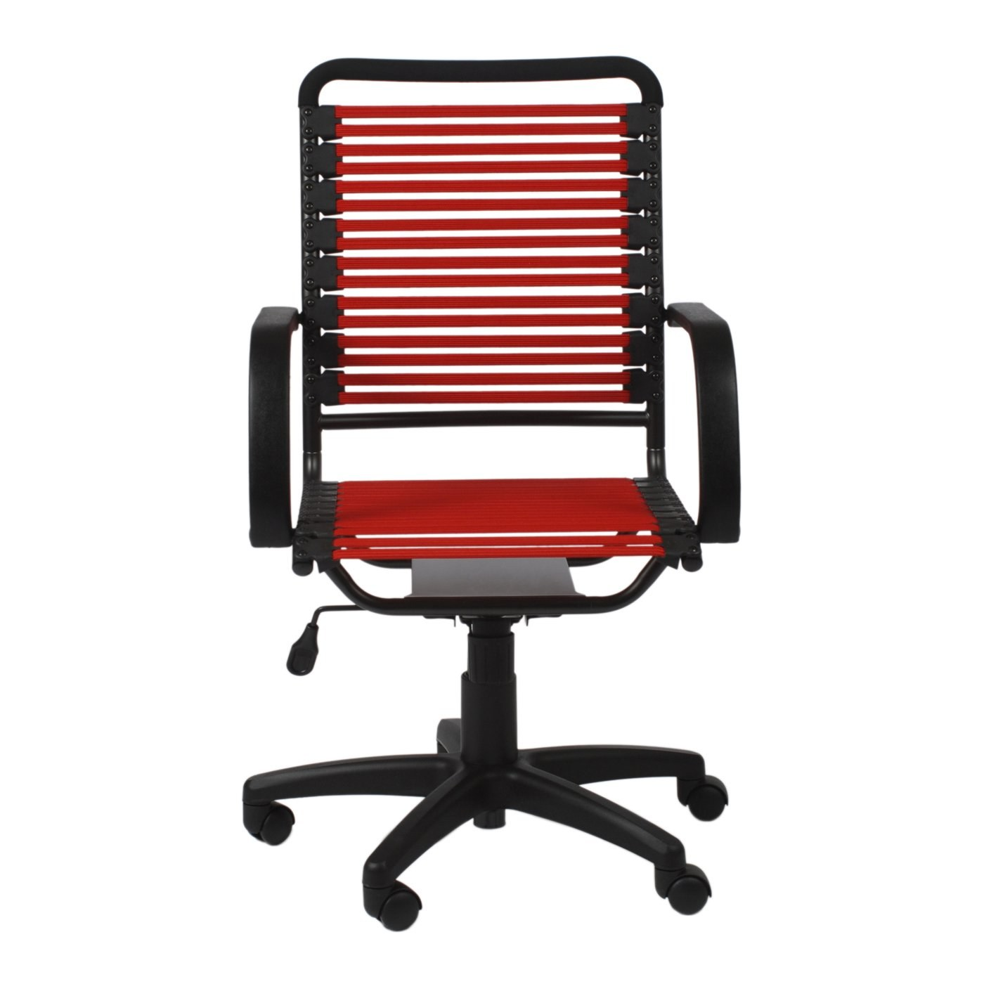 red high back chair cane supplies bungie flat office in by euro style