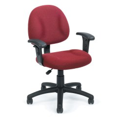Upholstered Posture Chair Lane Executive Leather Office Deluxe Tweed With Adjustable Arms