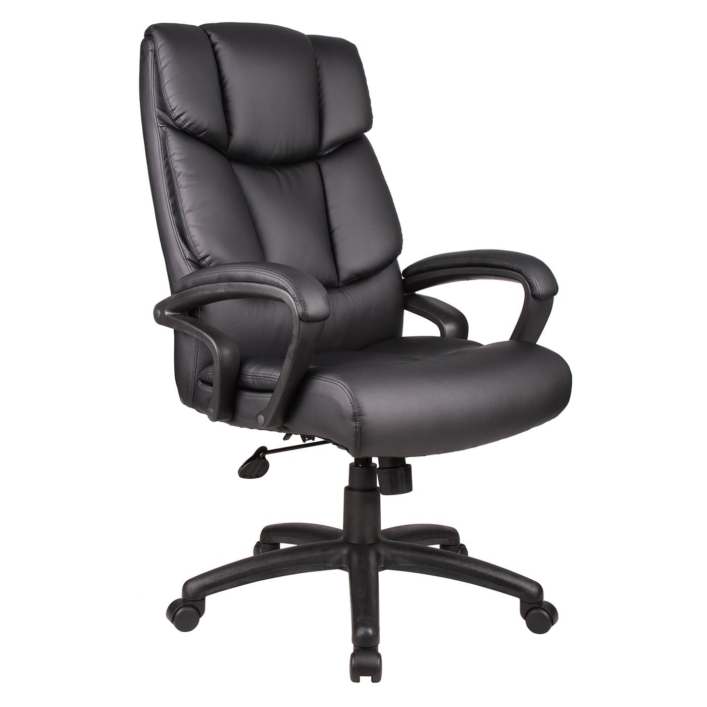 desk chair knees baseball rocking executive office without knee tilt by boss