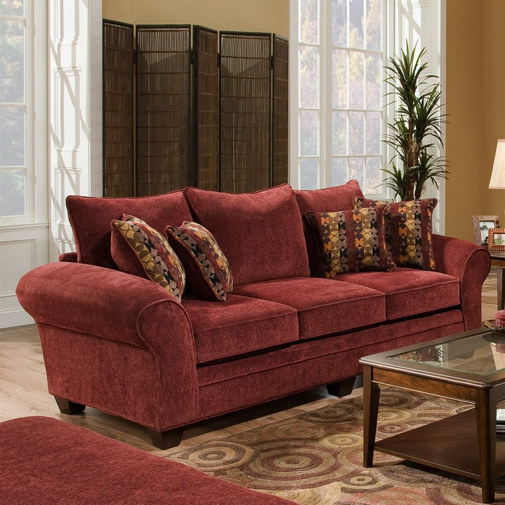 four club chairs in living room tropical thailand clearlake sofa with masterpiece burgundy upholstery ...