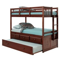Bunk Bed with Trundle Unit & Underbed Storage by Chelsea Home