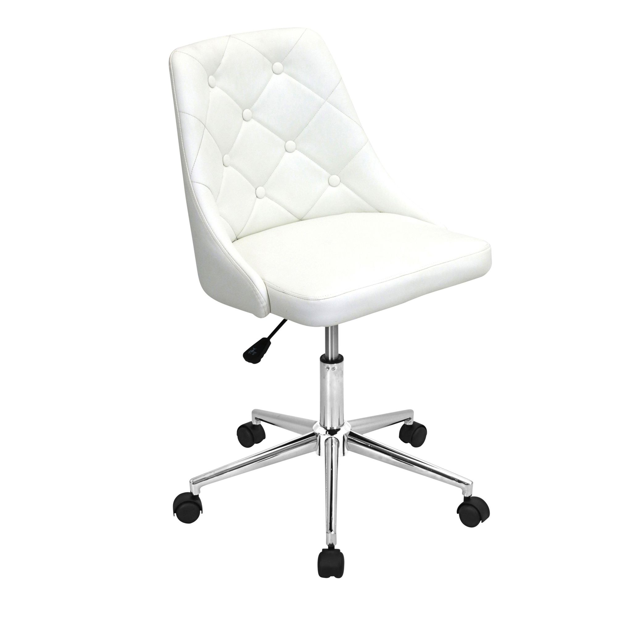 Eggshell Chair Marche Office Chair In Eggshell Off White By Lumisource