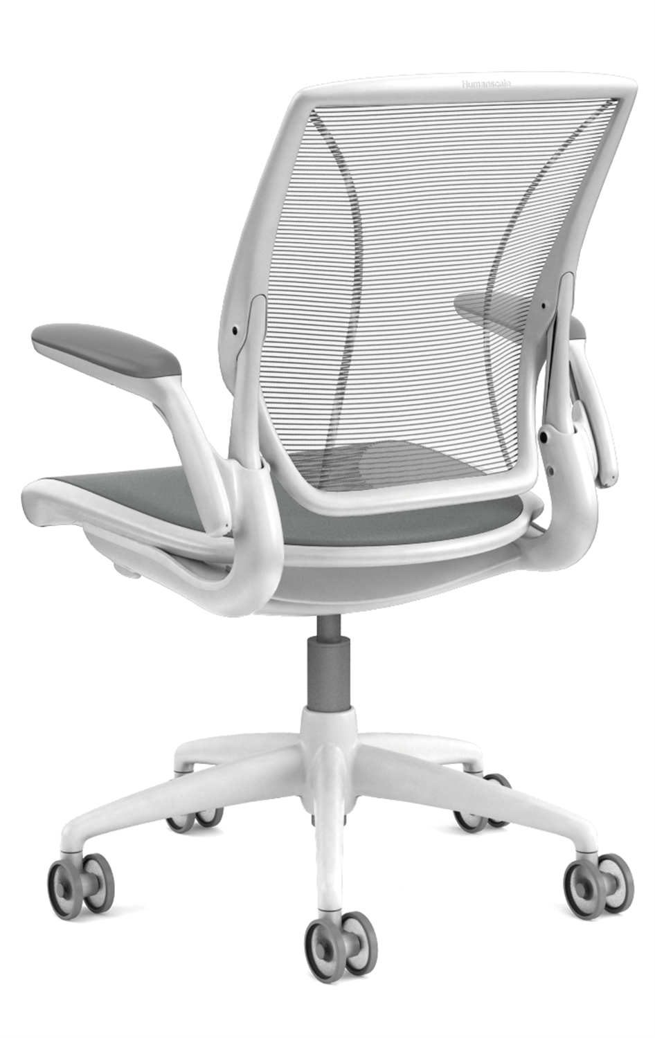 Humanscale Diffrient World Chair Diffrient World Mesh Desk Chair In White By Humanscale