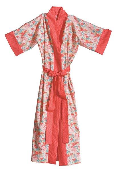 Kimono Robe Sewing Pattern Free : kimono, sewing, pattern, Kimono, Pattern, Download, Connecting, Threads
