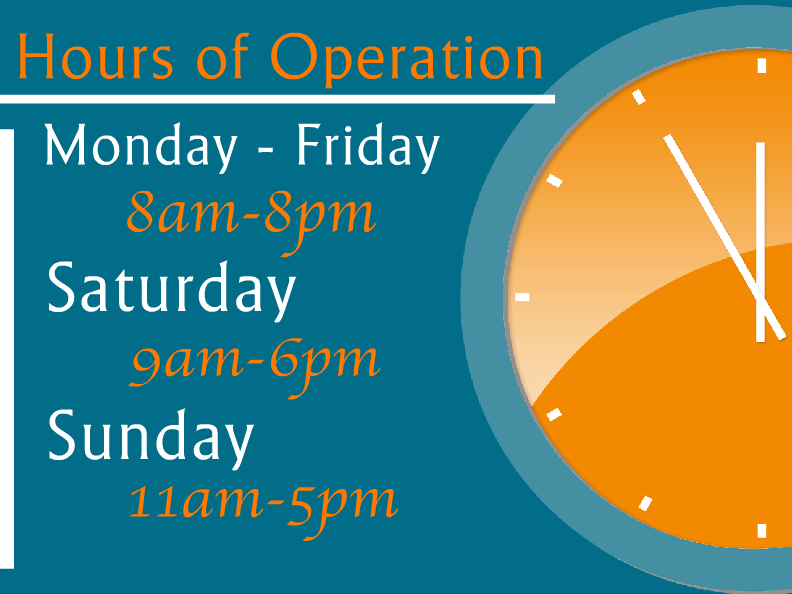 Hours Of Operation Templates