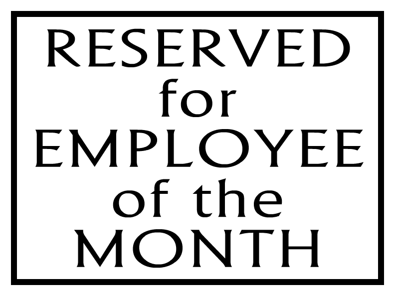 Employee Of The Month Templates