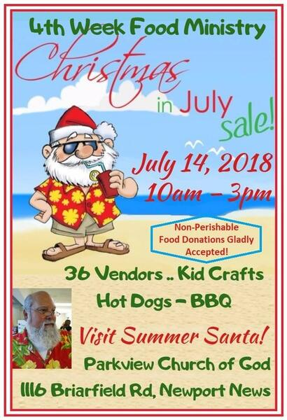 Christmas In July Craft Show Near Me