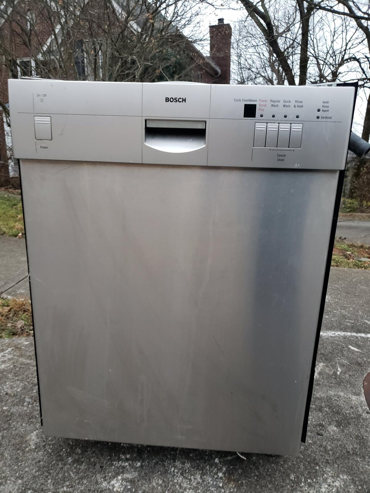 Bosch Dishwasher Free Installation : bosch, dishwasher, installation, Curbside, Bosch, Dishwasher, Nextdoor