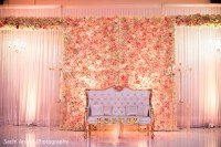 Romantic roses decoration the sweetheart stage.