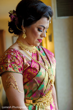Inspiration Photo Gallery – Indian Weddings South Indian Bride