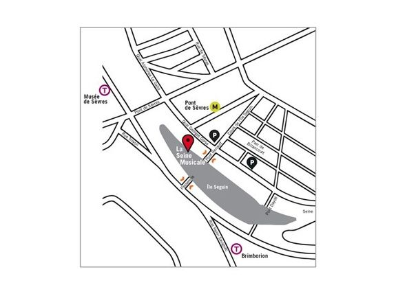 How to get to La Seine Musicale (practical information) of