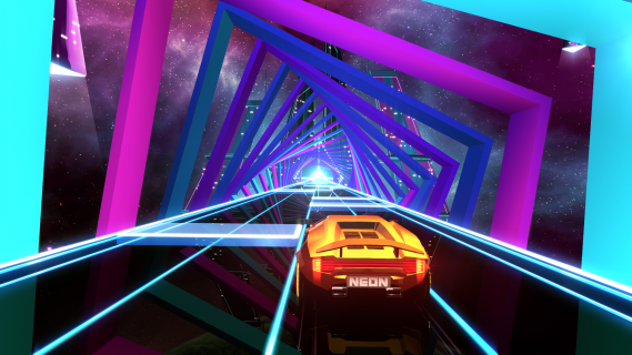 80s Car Wallpaper Neon Drive Is A Far Out 80s Driving Arcade Game That We