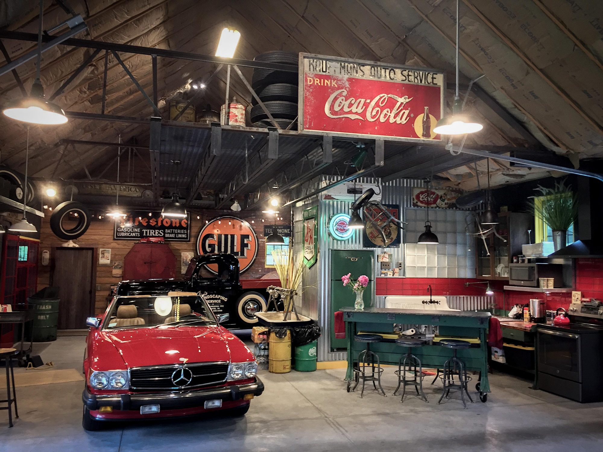 This Dream Garage Is More Than Just A Place To Store