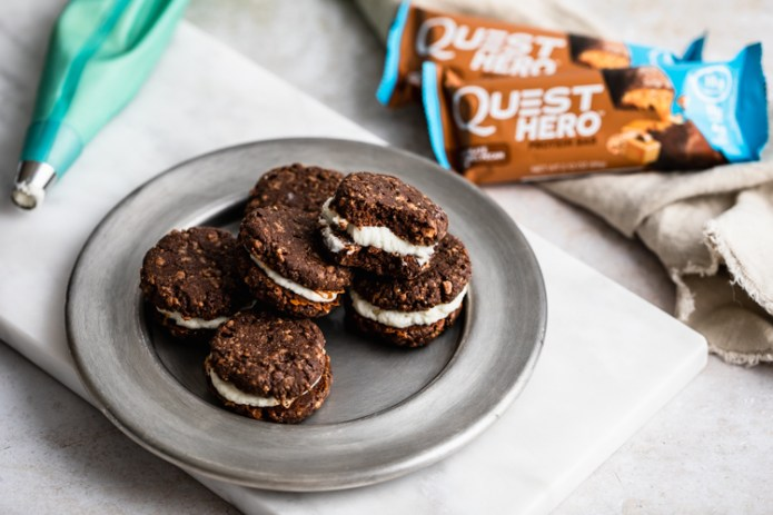 If You Don't Plan on Sharing These Chocolate Caramel Whoopie Pies You Just Might Eat Them All
