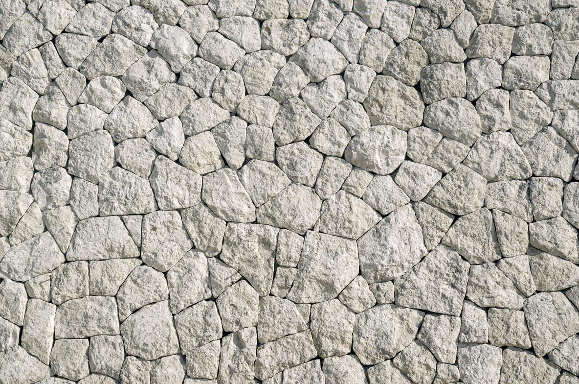white rocks wall texture