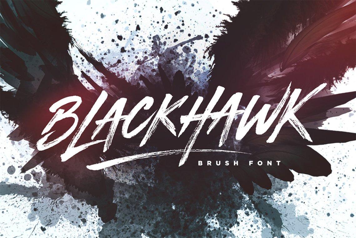 Download BLACKHAWK - Desktop Font & WebFont - YouWorkForThem
