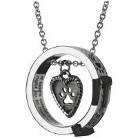 Paw Print Collar Remembrance Necklace : The Animal Rescue Site