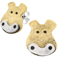 Hippo Post Earrings : The Animal Rescue Site
