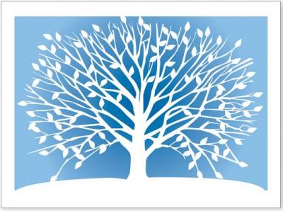 Note Card Laser Tree Of Life Peter Pauper Press