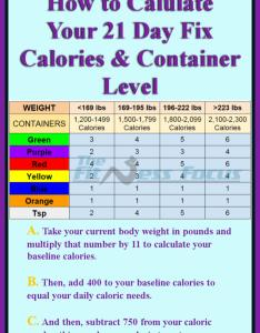 day fix calorie  container calculation chart also how to calculate your and level rh thefitnessfocus