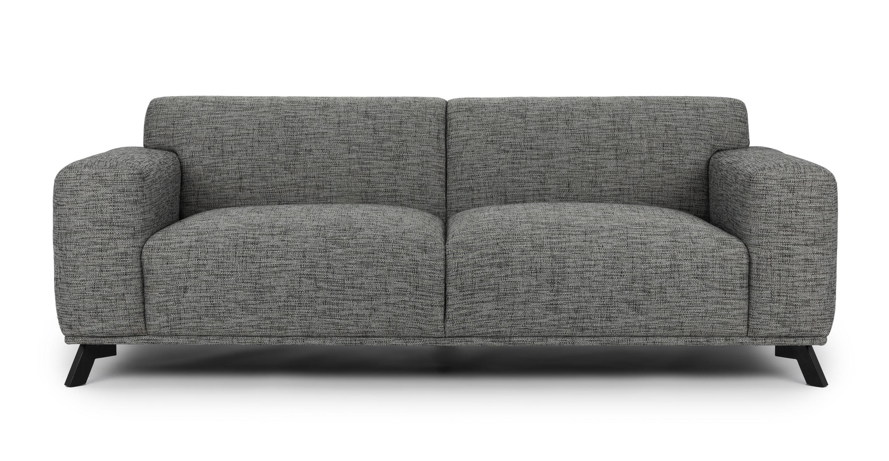 mid century style sofa canada skyline volu licorice cream - sofas article | modern, ...