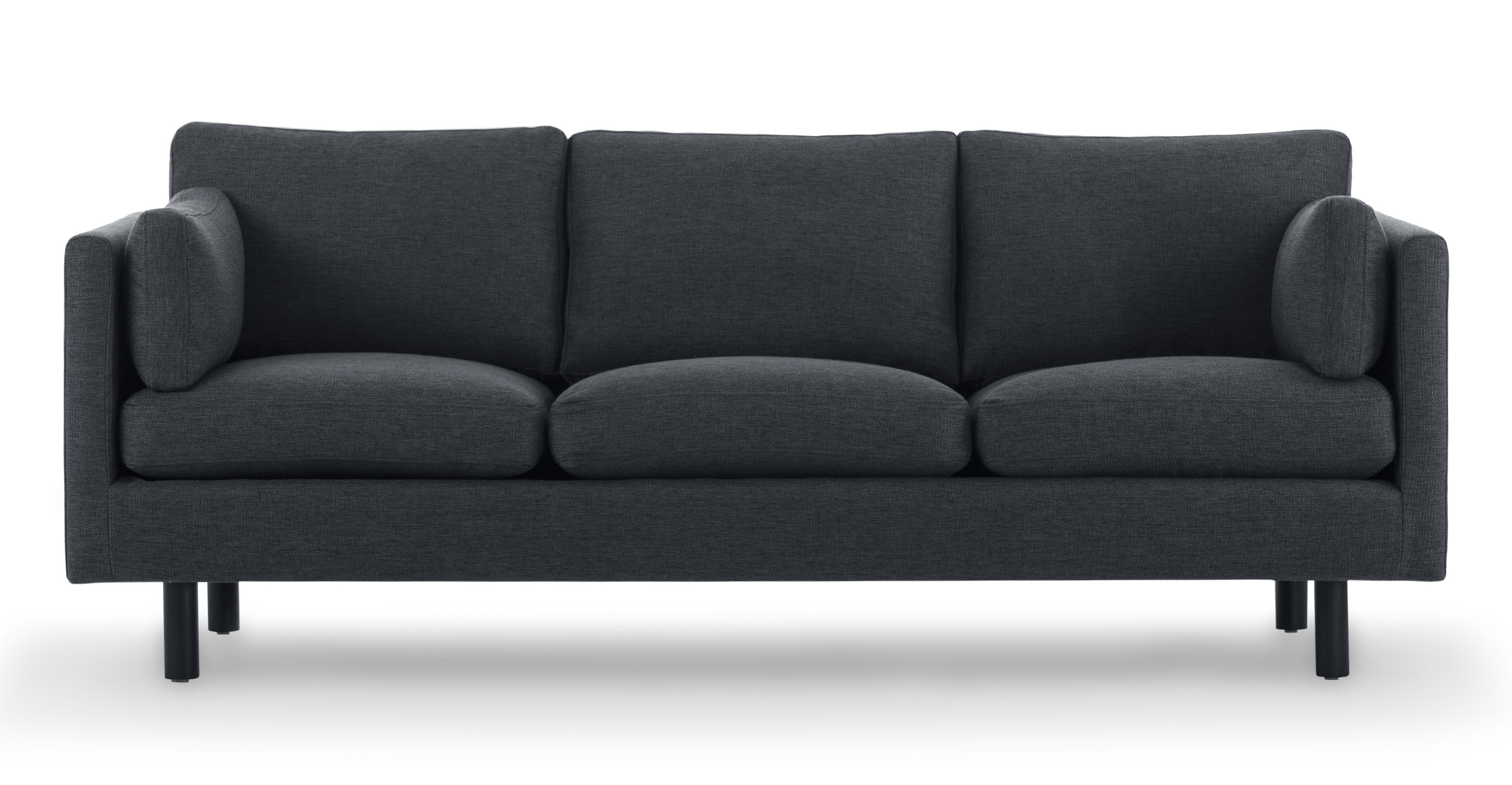mid century style sofa canada how to remove ballpoint pen ink from leather nova bard gray sofas article modern