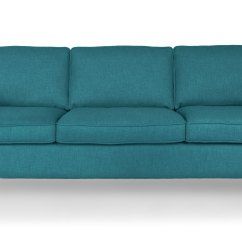 Mid Century Style Sofa Canada Flexsteel Crosstown Leather Reviews Cherie Ocean Teal - Sofas Article | Modern, ...