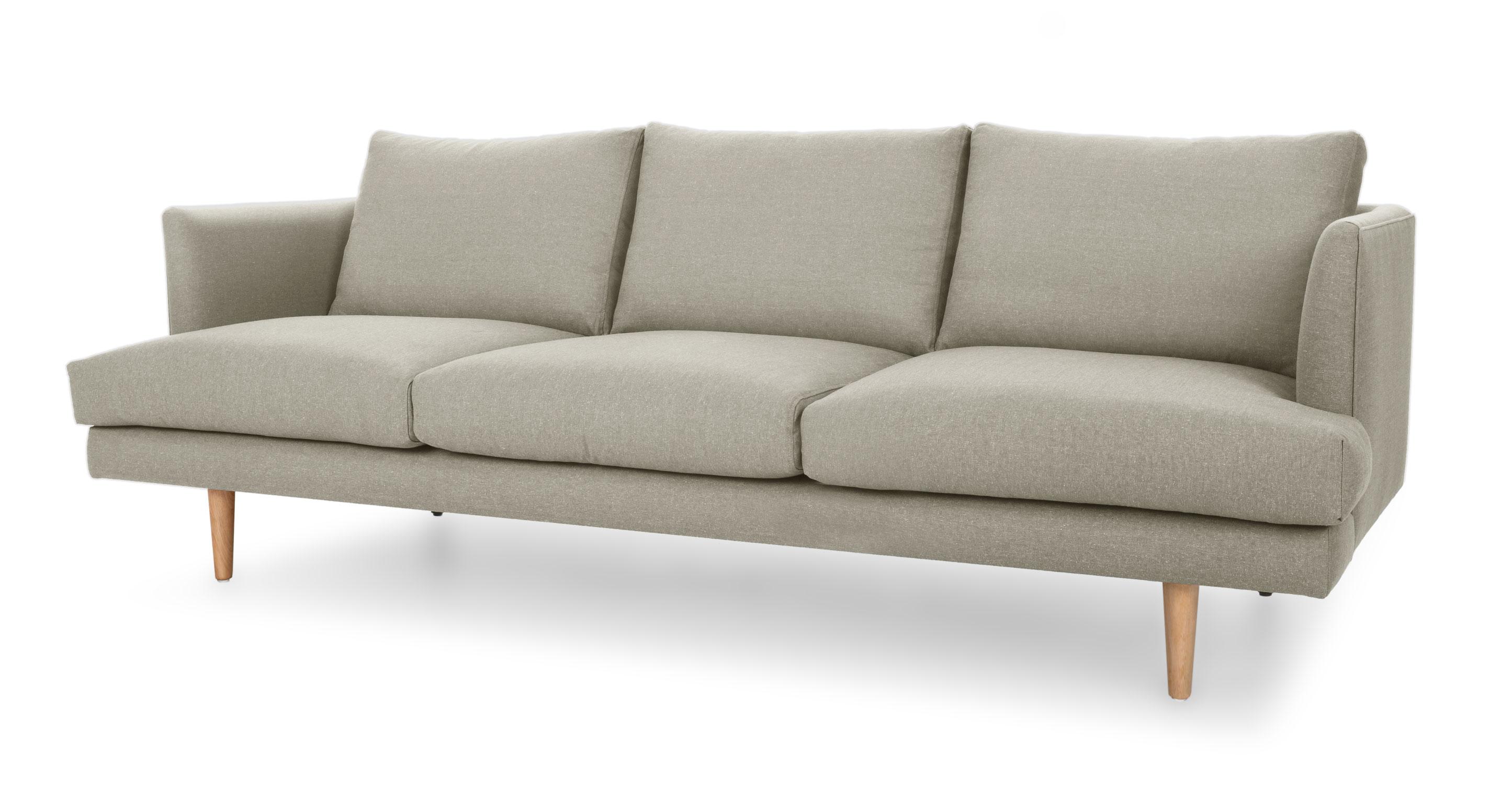 mid century style sofa canada covers edmonton carl cobble gray sofas article modern