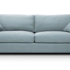 Mid Century Style Sofa Canada Sofactory Canape Cuir Sitka Glacier Blue Sofas Article Modern