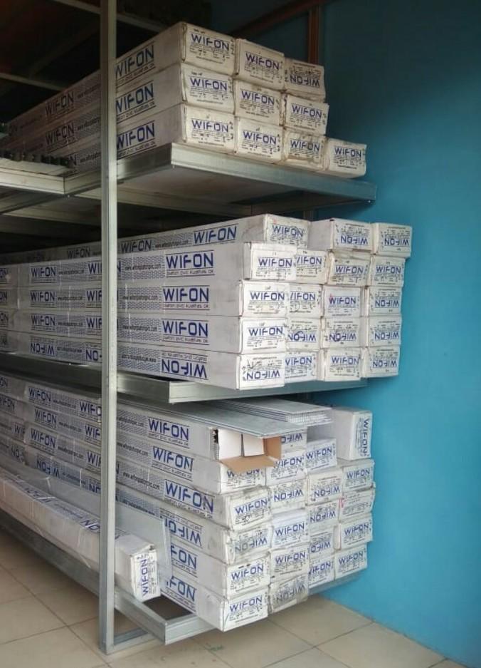 jasa pasang baja ringan karawang jual plafon pvc harga per meter 0812 8227 4712