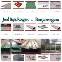 Harga Baja Ringan Cnp 1 Mm Jual Atap Spandek Banjarnegara Telp 0813 1667 4567